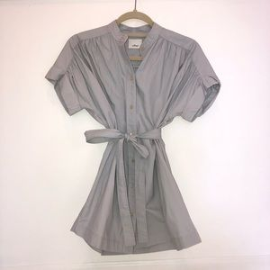 Grey aritzia Wilfred dress/ shirt